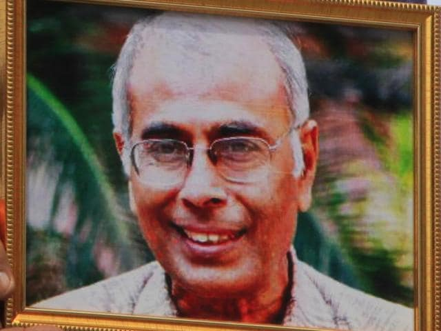 Narendra Dabholkar, prominent anti-superstition campaigner, was killed on August 20, 2013 while on a morning walk by two unidentified men on a motorcycle.
