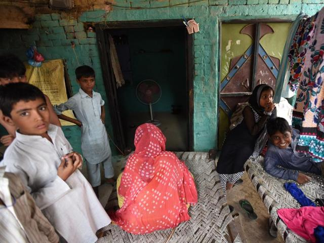 A property on sale after its ower migrated from Kairana