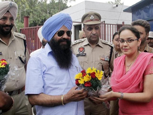 Sohan Singh Thandal, minister of jails, visited Central Jail Ludhiana on Tuesday.