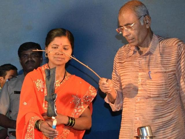 Narendra Dabholkar, a rationalist and author, was shot dead in Pune on August 20, 2013. He was involved in social reformation movements such as one-village-one-well.