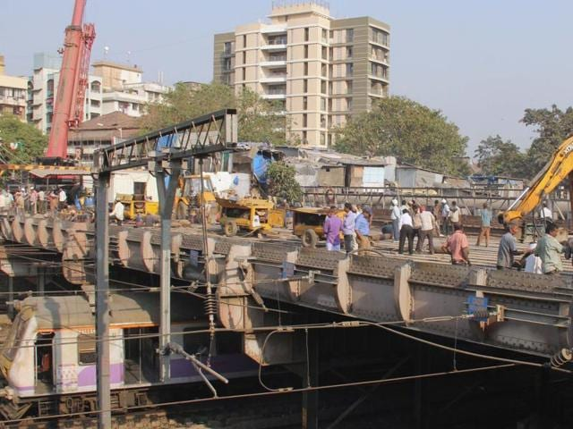 Hancock bridge was deemed dangerous by the Central Railway in 2013 and demolished in January this year.
