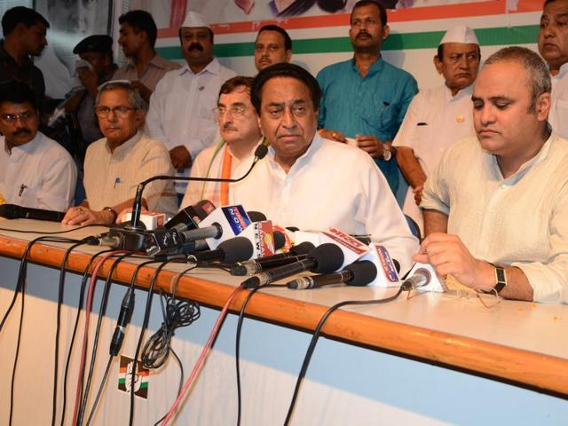 Congress leader Kamal Nath resigned as the party's Punjab in-charge.(HT Photo)