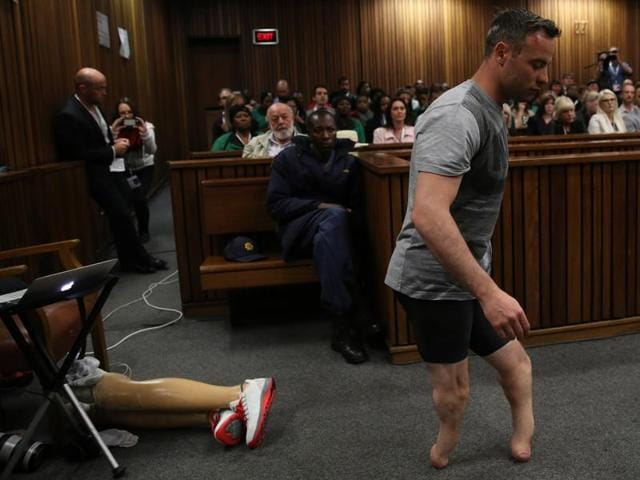 "Oscar Pistorius' lawyer Barry Roux was making a final plea for the ""Blade Runner"", who faces 15 years in jail."
