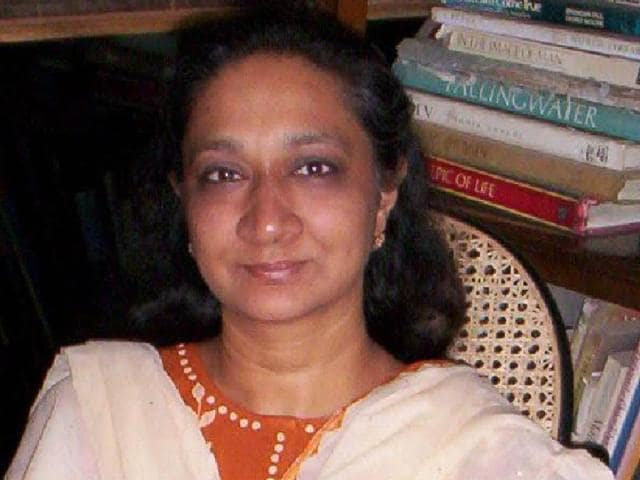 Sumaira Abdulali, convener of Awaaz Foundation.  The foundation has written to the municipal commissioner demanding that the notification be withdrawn.