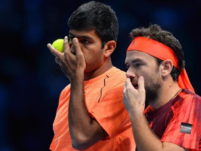 Bopanna and Mergea failed to capitalise on winning the first set.