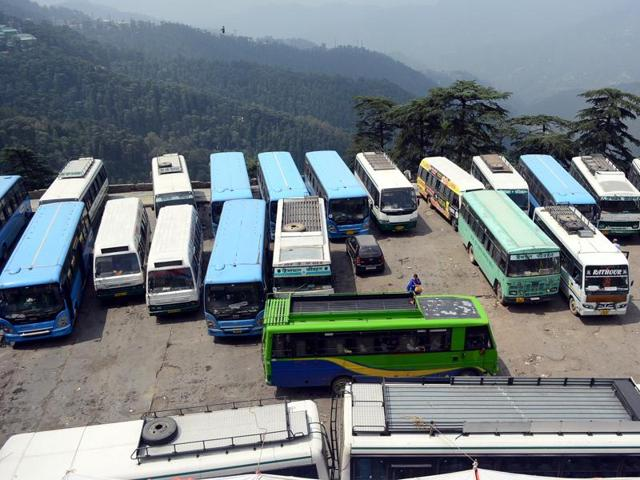 HRTC employees had went on a strike on Tuesday, keeping all the government buses off road.