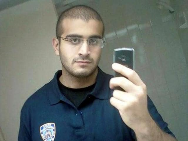 An undated photo from a social media account of Omar Mateen, who Orlando Police have identified as the suspect in the mass shooting at a gay nighclub in Orlando.