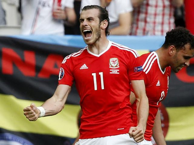 A combination of file pictures shows Wales' forward Gareth Bale (L) and England forward Harry Kane (R). England take on Wales in their Euro 2016 group B football match on June 16, 2016 in Lens, France.