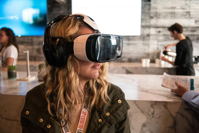 At the annual E3 video game showcase in Los Angeles this week, attendees strapped on VR headsets to peer into fantasy worlds, battle robotic creatures and command starships.