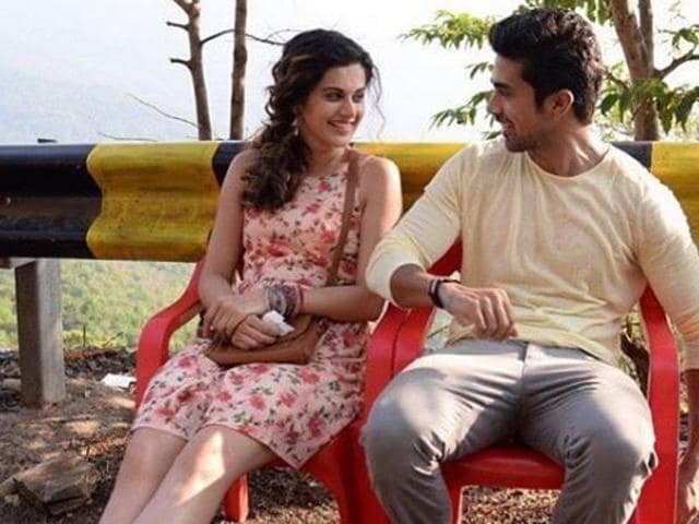 Actors Saqib Saleem and Taapsee Pannu's off-screen chemistry made everyone wonder if they knew each other from a long time.