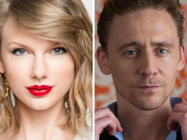Taylor Swift was caught on camera kissing and holding hands with Tom Hiddleston during a romantic outing on the beach.