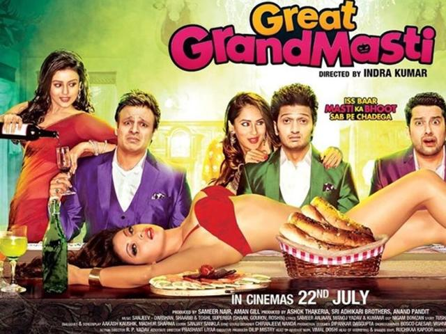 First look of Great Grand Masti was revealed today.