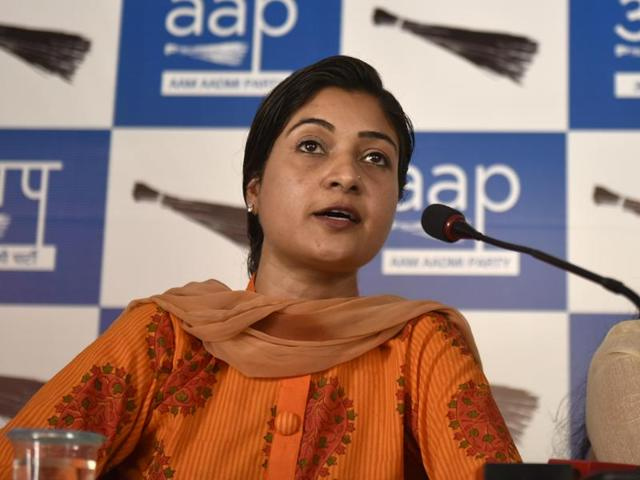AAP MLA Alka Lamba was allegedly removed for deviating from the party line on Gopal Rai's resignation as transport minister.