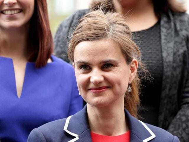 Batley and Spen MP Jo Cox is seen in Westminster in this file photo.