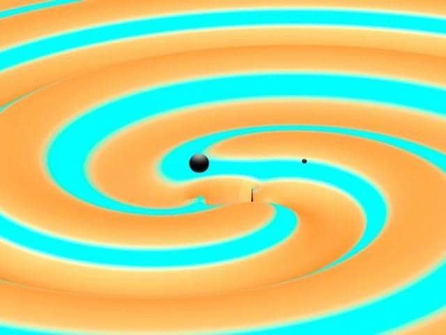 Gravitational waves in space