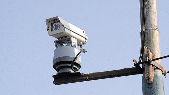 CCTV camera in schools
