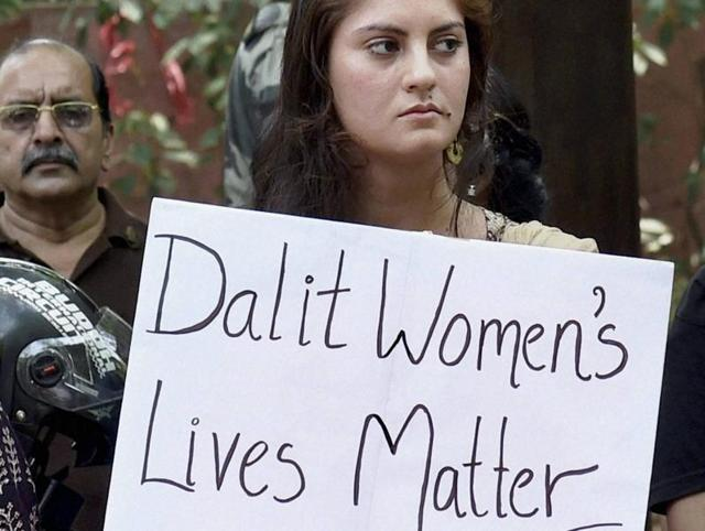 Activists demand justice for the Dalit woman who was brutally raped and murdered at her home onApril 28 in Kerala.