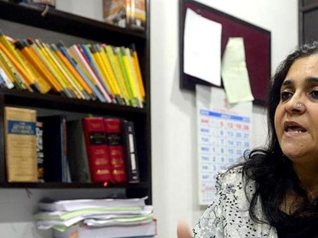 Activist Teesta Setalvad's NGO registration has been cancelled by the government.