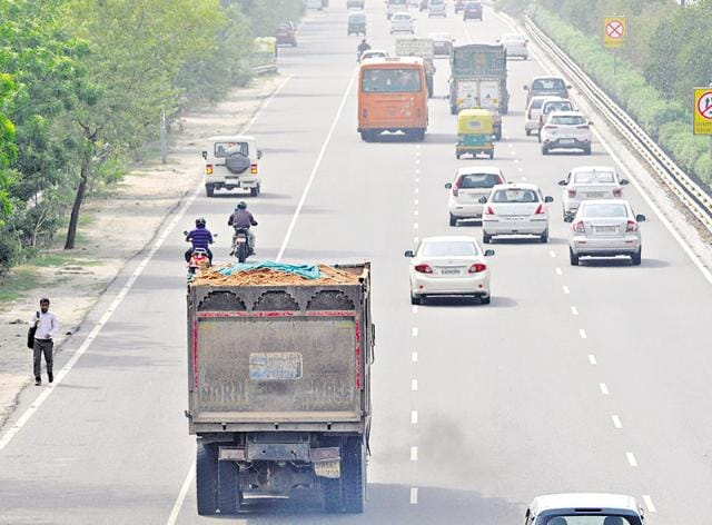 Heavy vehicles do not generally cross the 100 kmph limit but they often cross the limit of 60 kmph, but this is not captured by the cameras, the traffic police said.