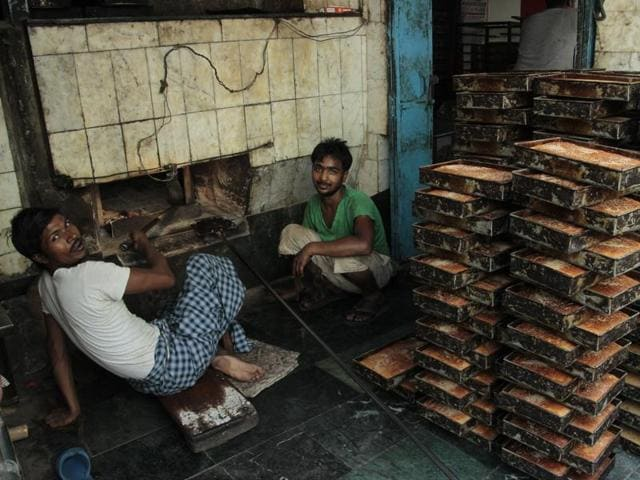 Old Delhi offers varieties of rusk, fain and tabarak roti or saunf ki roti.