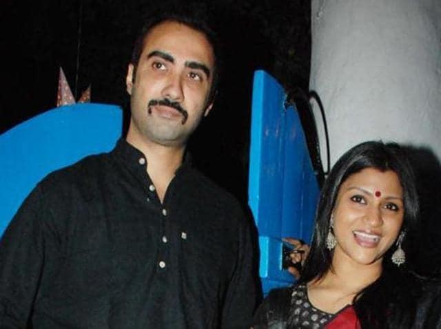 Ranvir and Konkona married in 2010. (HT Photo)