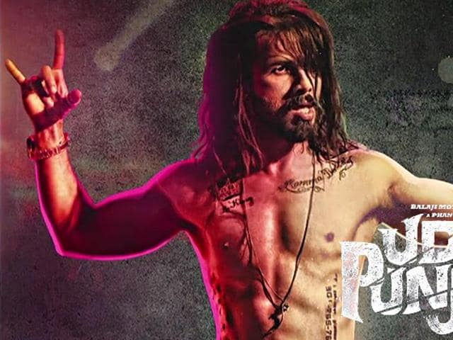 Shahid Kapoor plays a fading superstar Tommy Singh in Udta Punjab. (Twitter)