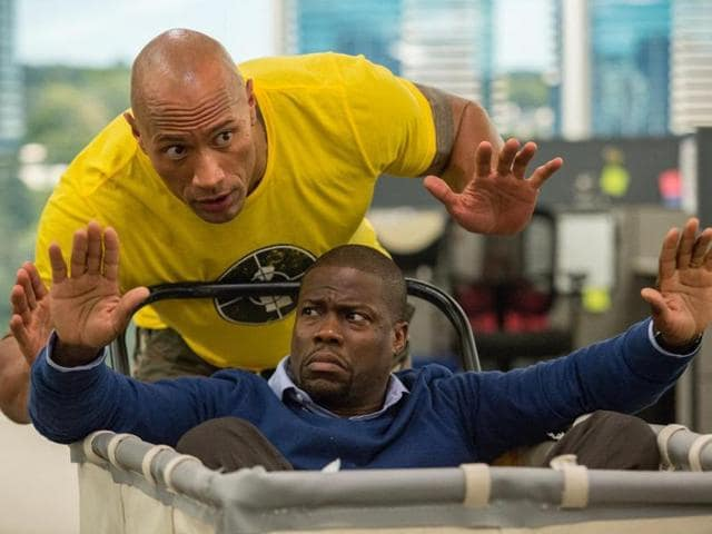 Broad and brainless, Central Intelligence is still good for a couple of laughs.