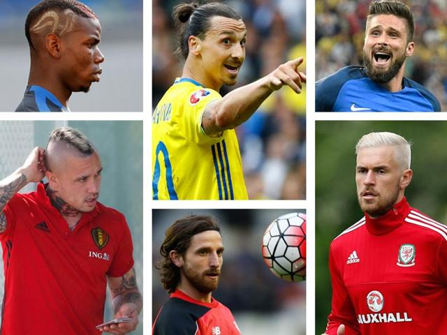 For footballers, tournaments such as Euro 2016 are a great platform to showcase their new hairdos.