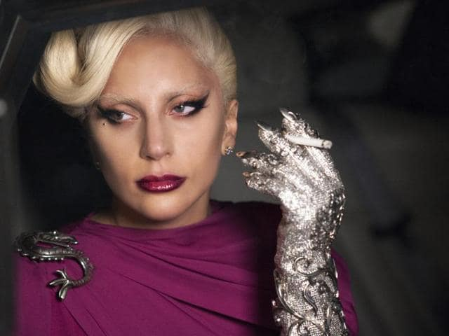 Lada Gaga recently starred in American Horror Story.