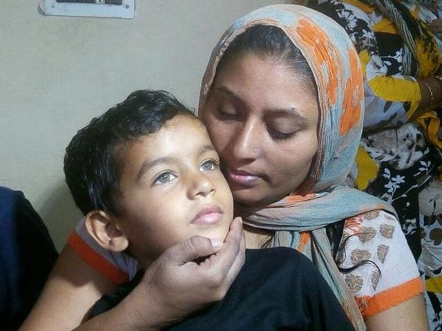 The child, who was kidnapped from the Golden Temple, reunited with his mother in Amritsar on Friday.