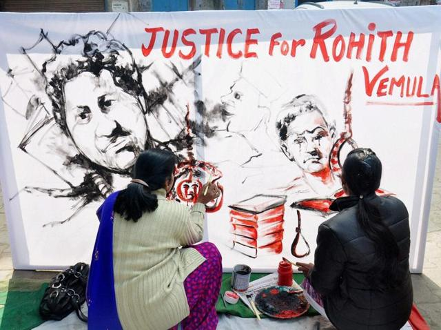 Rohith Vemula,Dalit suicide,University of Hyderabad