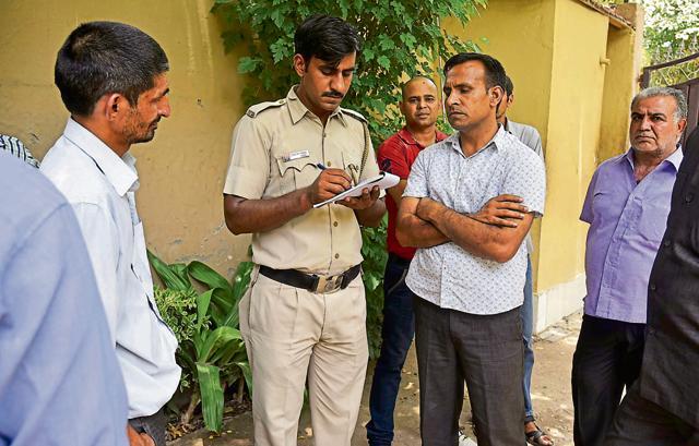 Chattarpur burglary