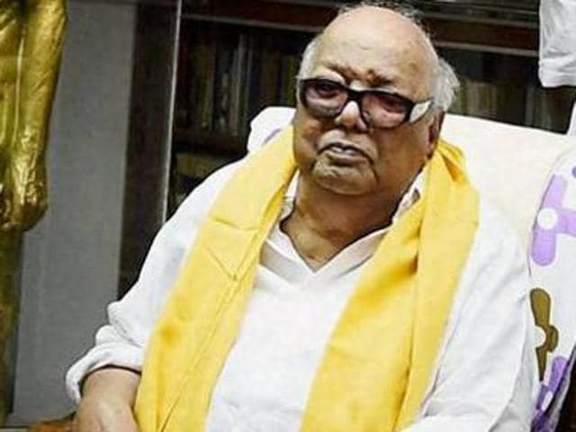 DMK chief M Karunanidhi has called the proposal to make Hindi the main medium of official communication an 'atrocity'. Tamil Nadu had earlier strongly opposed the adoption of Hindi and Sanskrit as official languages.