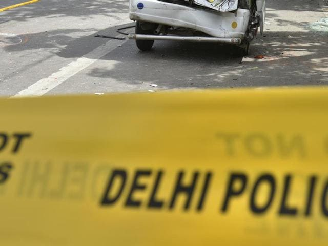 A three-and-a-half-year old boy was run over outside his house in southwest Delhi's Najafgarh, allegedly by a speeding tempo driven by a drunk driver, on Friday morning.