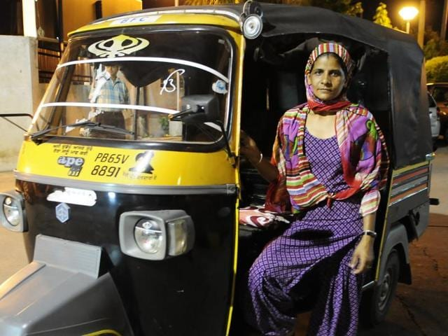Mohali,auto driver,autorickshaw driving