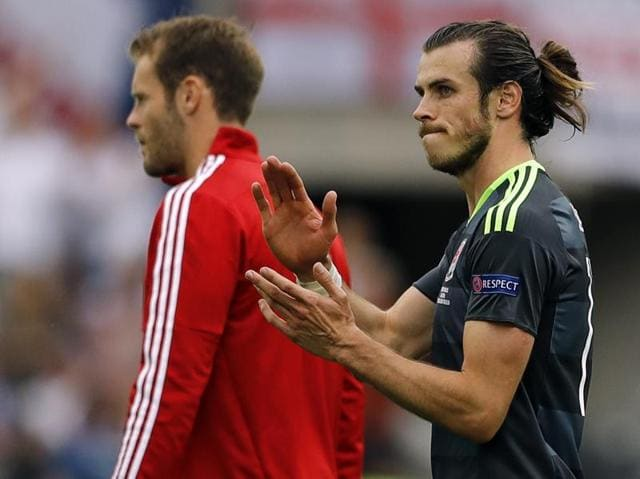 For the second game running, Bale put Wales in the lead with a free kick.