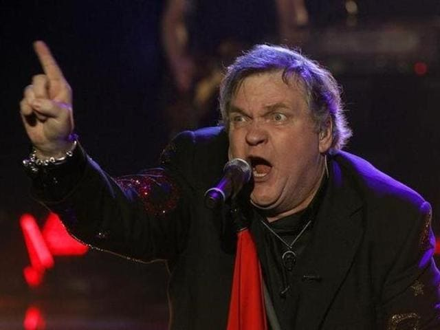 US singer Meat Loaf performs during the German game show Wetten Dass (Bet it...?) in the southern German town of Friedrichshafen.