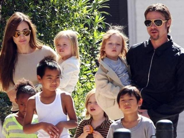 Jolie is currently married to Brad Pitt. The couple has 6 children.