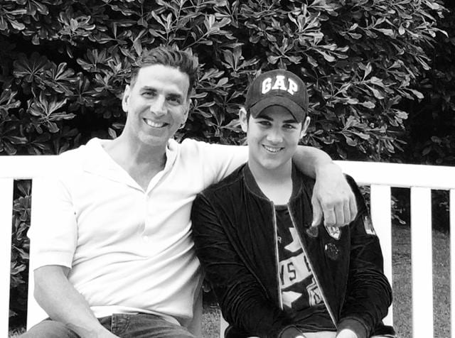 Actor Akshay Kumar talks about his son Aarav and their bonding on this Father's Day.