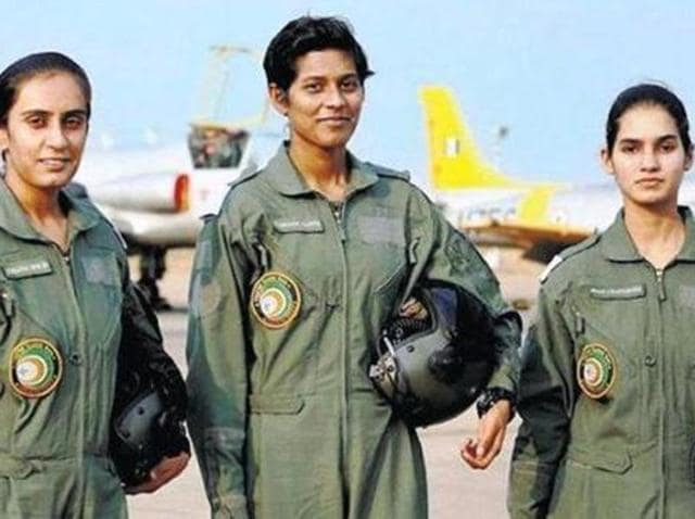 Avani Chaturvedi, Bhawana Kanth and Mohana Singh on Saturday were commissioned as India's first three women fighter pilots.