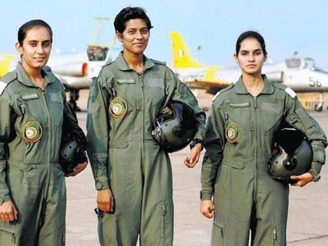 Indian Air Force,Women fighter pilots,Combined Gaduation Parade