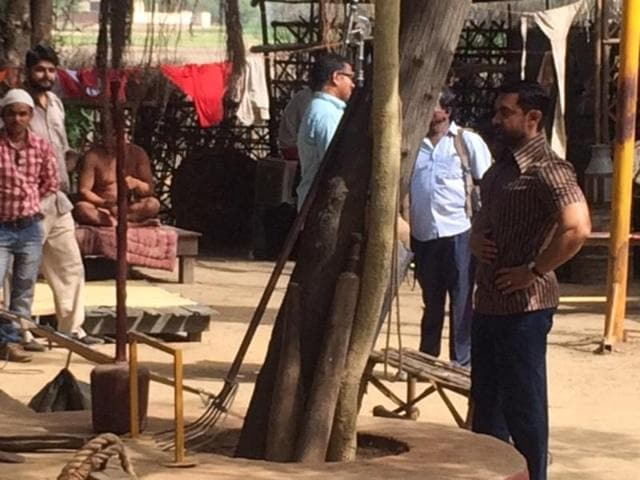 Aamir Khan wanted everything perfect on the sets of Dangal. (HTPhoto)