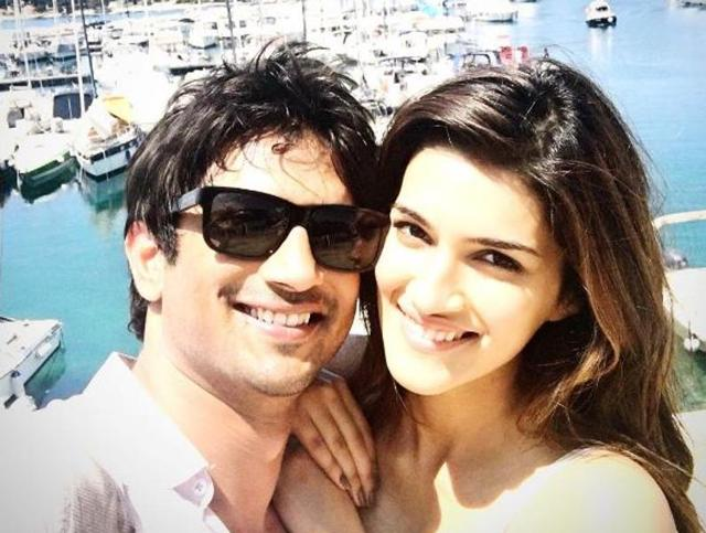 Sushant and Kriti are now back from the shooting of Raabta in Budapest. (Instagram)