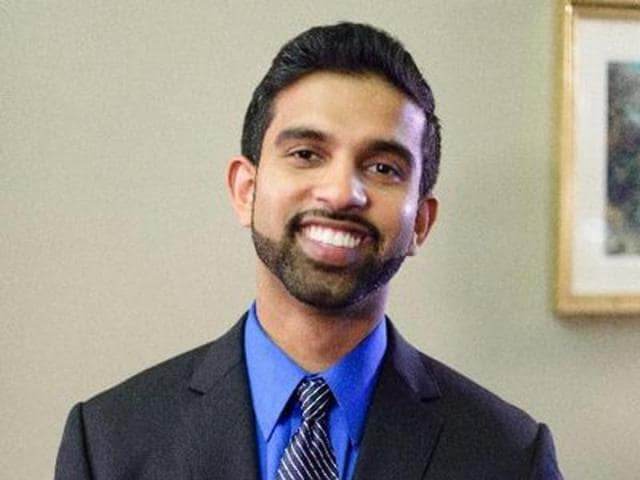 Peter Jacob, an Indian-American Democratic social worker is running for the US House of Representatives from New Jersey.