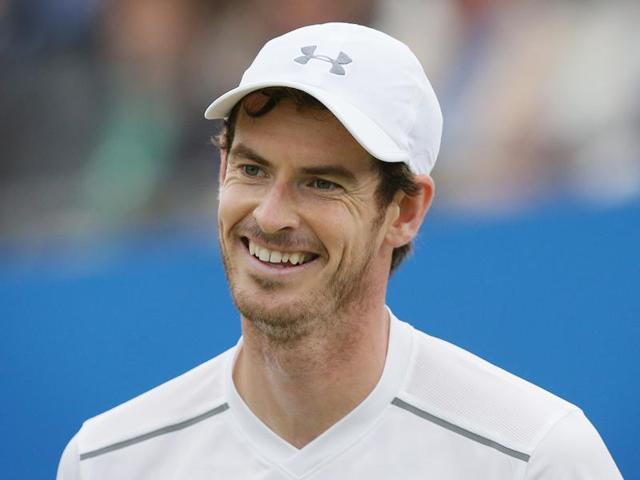 Andy Murray shakes the hand of Marin Cilic after their match.