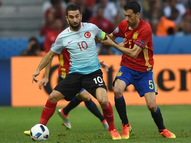 Turkey vs Spain,Arda Turan,Fatih Terim