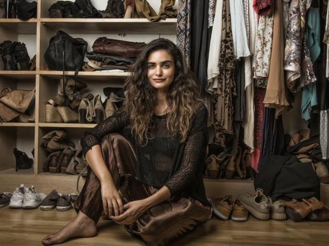 Designer and model Gabriella Demetriades owns over 100 pairs of boots