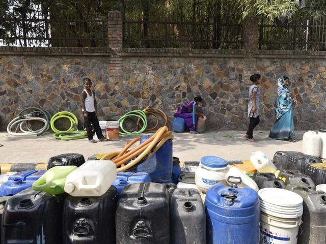 The Delhi Jal Board has said water supply will be scarce for the next few days in large parts of south and west Delhi, which have been facing shortage since Friday.
