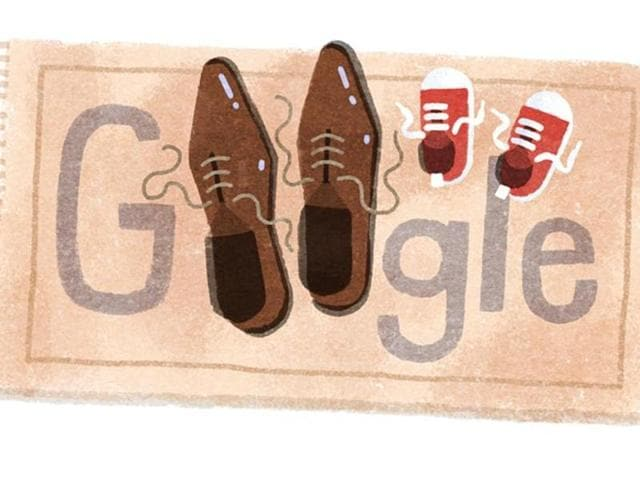 Google too has paid tribute to dads on Father's Day in a typically touching fashion, with a heartwarming illustration.