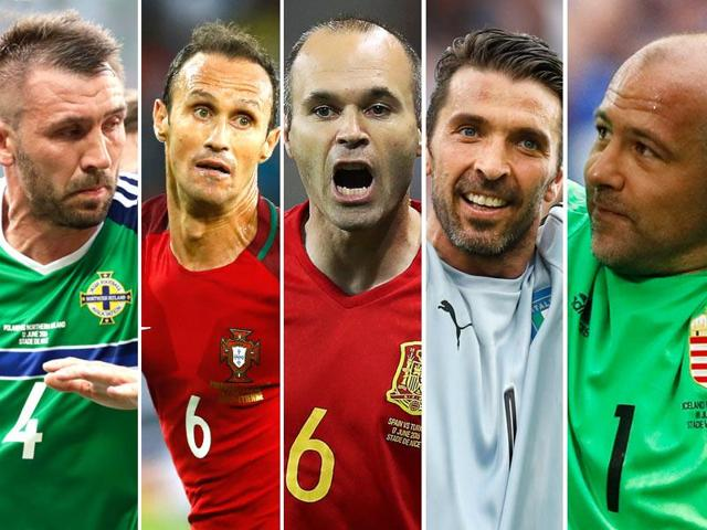 The experienced heads are proving their worth in the Euro 2016 tournament.